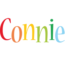 Connie birthday logo