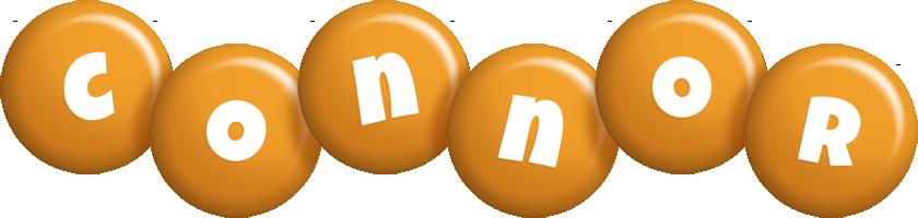 Connor candy-orange logo