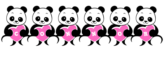 Connor love-panda logo
