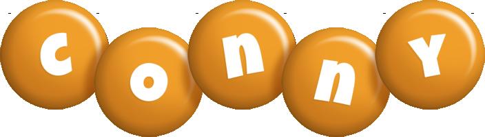 Conny candy-orange logo
