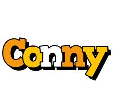Conny cartoon logo