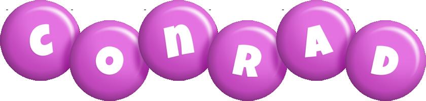Conrad candy-purple logo