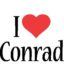 Conrad i-love logo