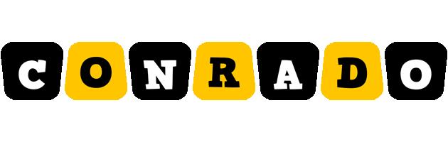 Conrado boots logo