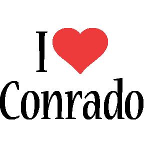 Conrado i-love logo