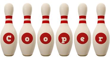 Cooper bowling-pin logo