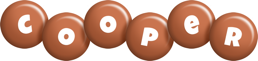 Cooper candy-brown logo