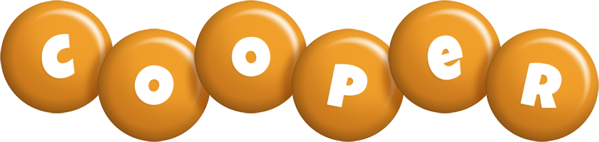 Cooper candy-orange logo