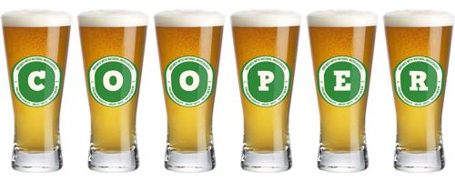 Cooper lager logo