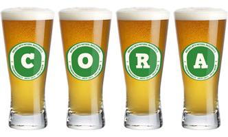 Cora lager logo