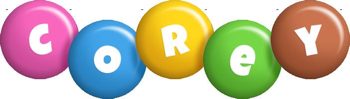 Corey candy logo