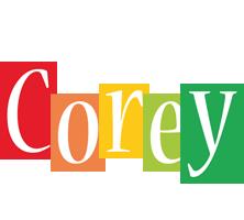 Corey colors logo