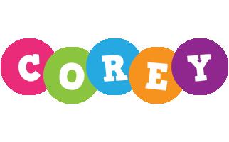 Corey friends logo