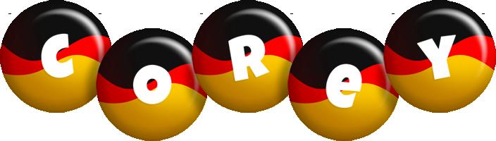Corey german logo
