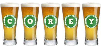 Corey lager logo