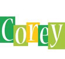 Corey lemonade logo