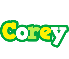 Corey soccer logo