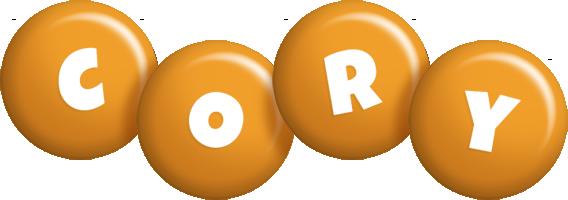 Cory candy-orange logo