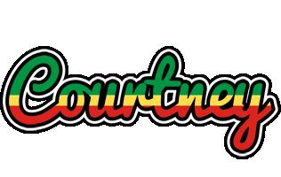 Courtney african logo