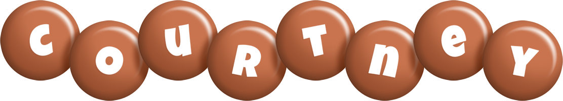 Courtney candy-brown logo