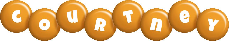 Courtney candy-orange logo
