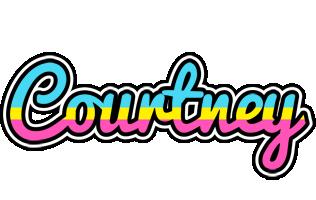 Courtney circus logo
