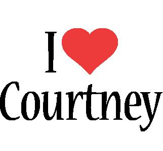 Courtney i-love logo