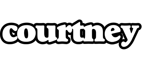 Courtney panda logo