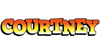 Courtney sunset logo