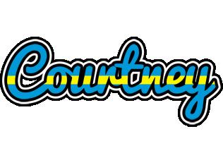 Courtney sweden logo