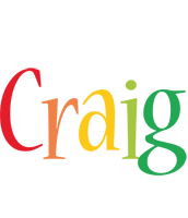 Craig birthday logo