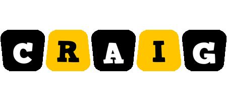 Craig boots logo