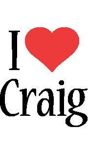 Craig i-love logo