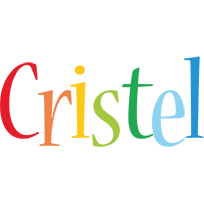 Cristel birthday logo