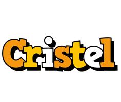 Cristel cartoon logo