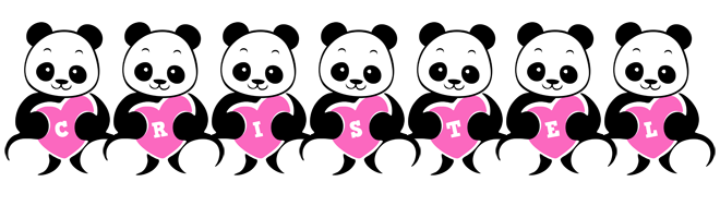 Cristel love-panda logo