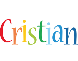 Cristian birthday logo