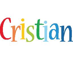 Cristian birthday logo