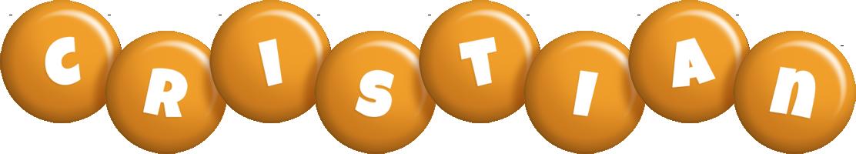 Cristian candy-orange logo