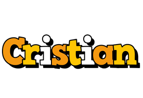 Cristian cartoon logo