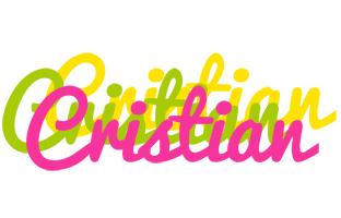 Cristian sweets logo