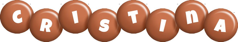 Cristina candy-brown logo