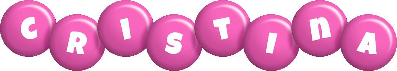 Cristina candy-pink logo