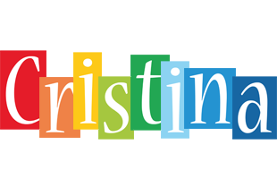 Cristina colors logo