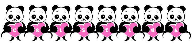 Cristina love-panda logo