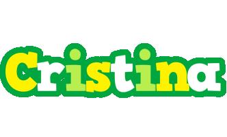 Cristina soccer logo