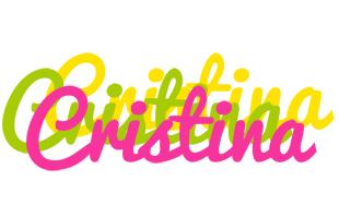Cristina sweets logo