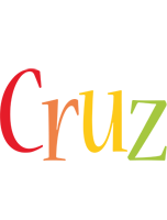 Cruz birthday logo