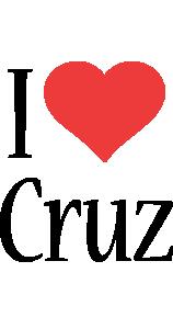 Cruz i-love logo