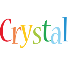 Crystal birthday logo